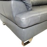 83% OFF - Ashley Furniture Ashley Furniture Gray Tufted ...