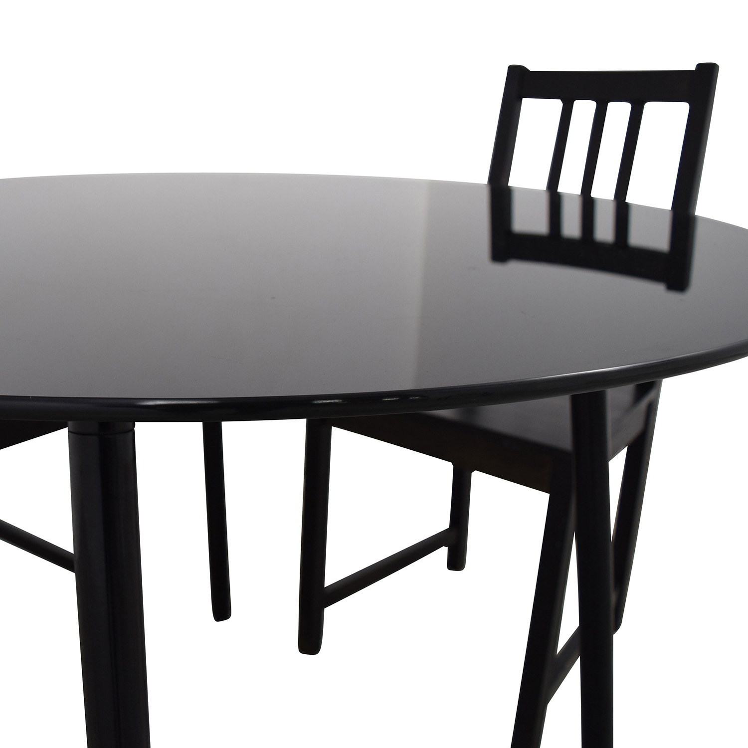 Ikea Table Chairs 31% Off - Ikea Ikea Glass And Wood Table And Chairs / Tables