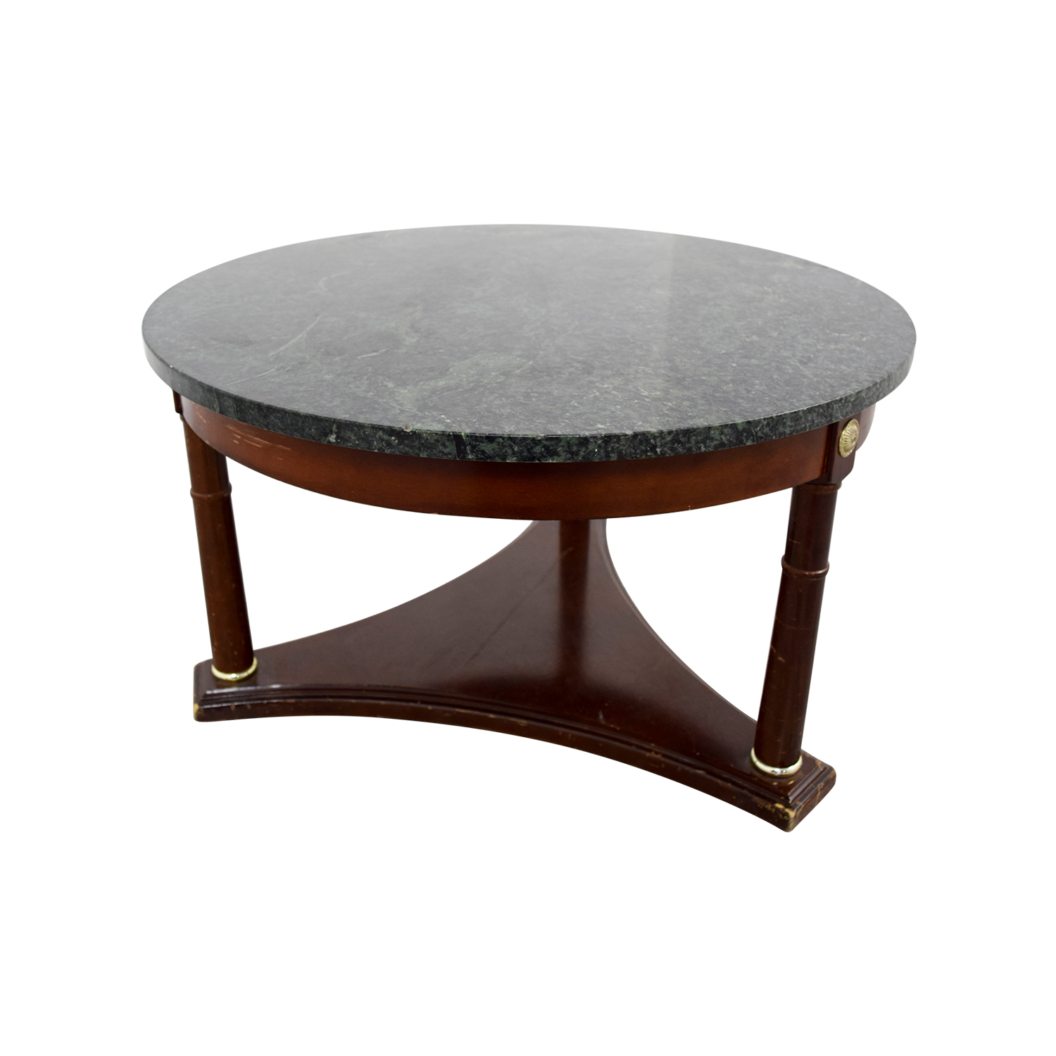 Buy Side Table 90 Off Green Marble Side Table Tables