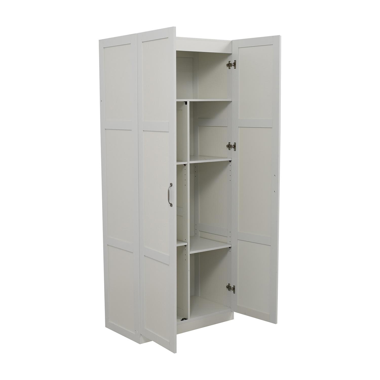 35 Off White Kitchen Pantry Storage