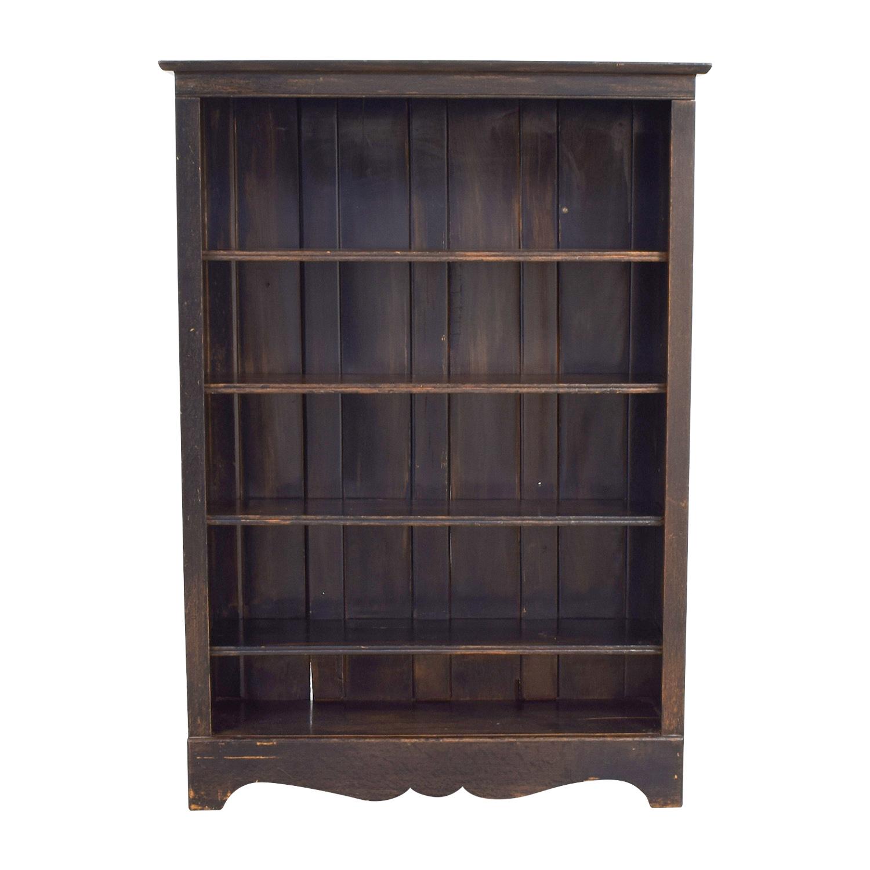 40 Off Multi Shape Grey Wood Bookcase Storage