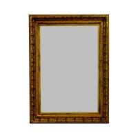 gold rectangle mirror furniture