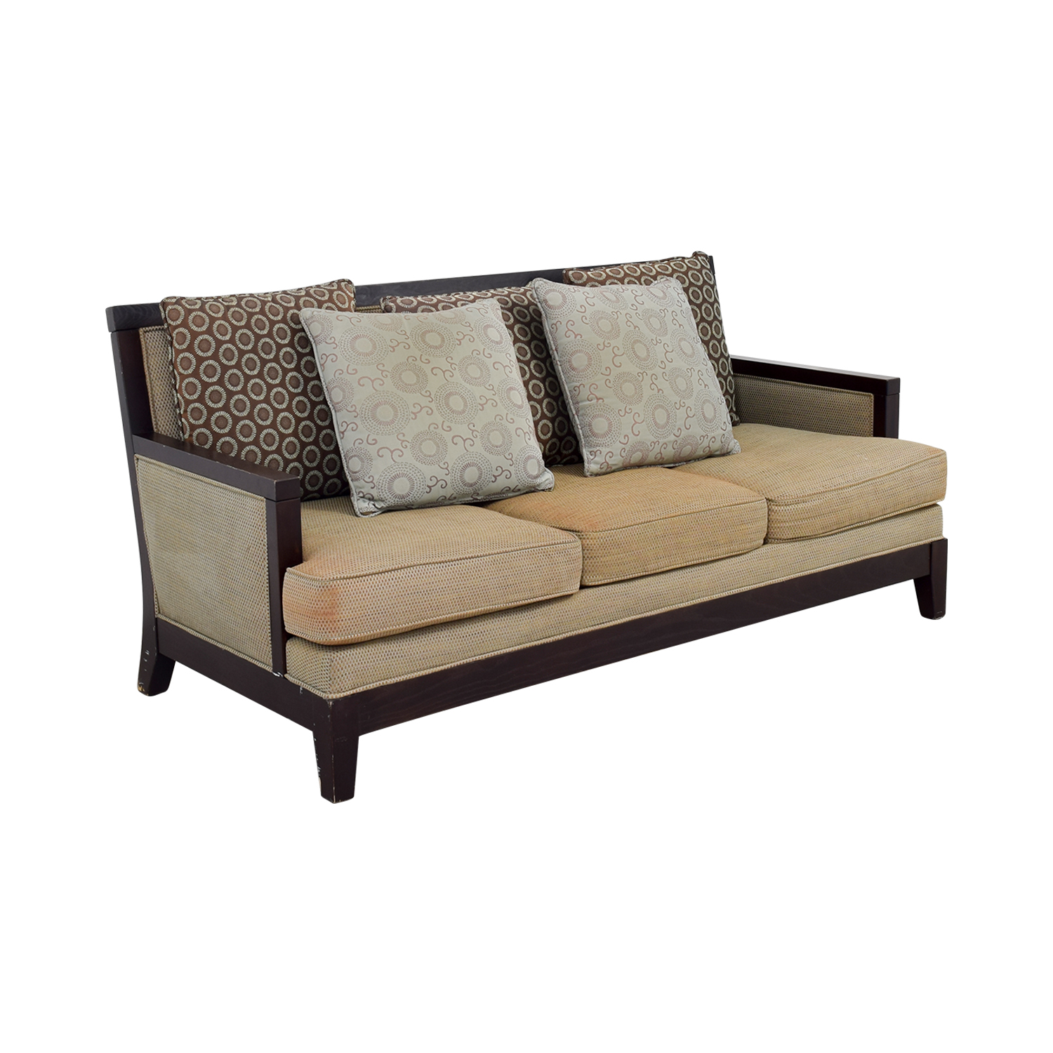 Sofa Set Wood Olx Second Hand Wood Sofa Brokeasshome