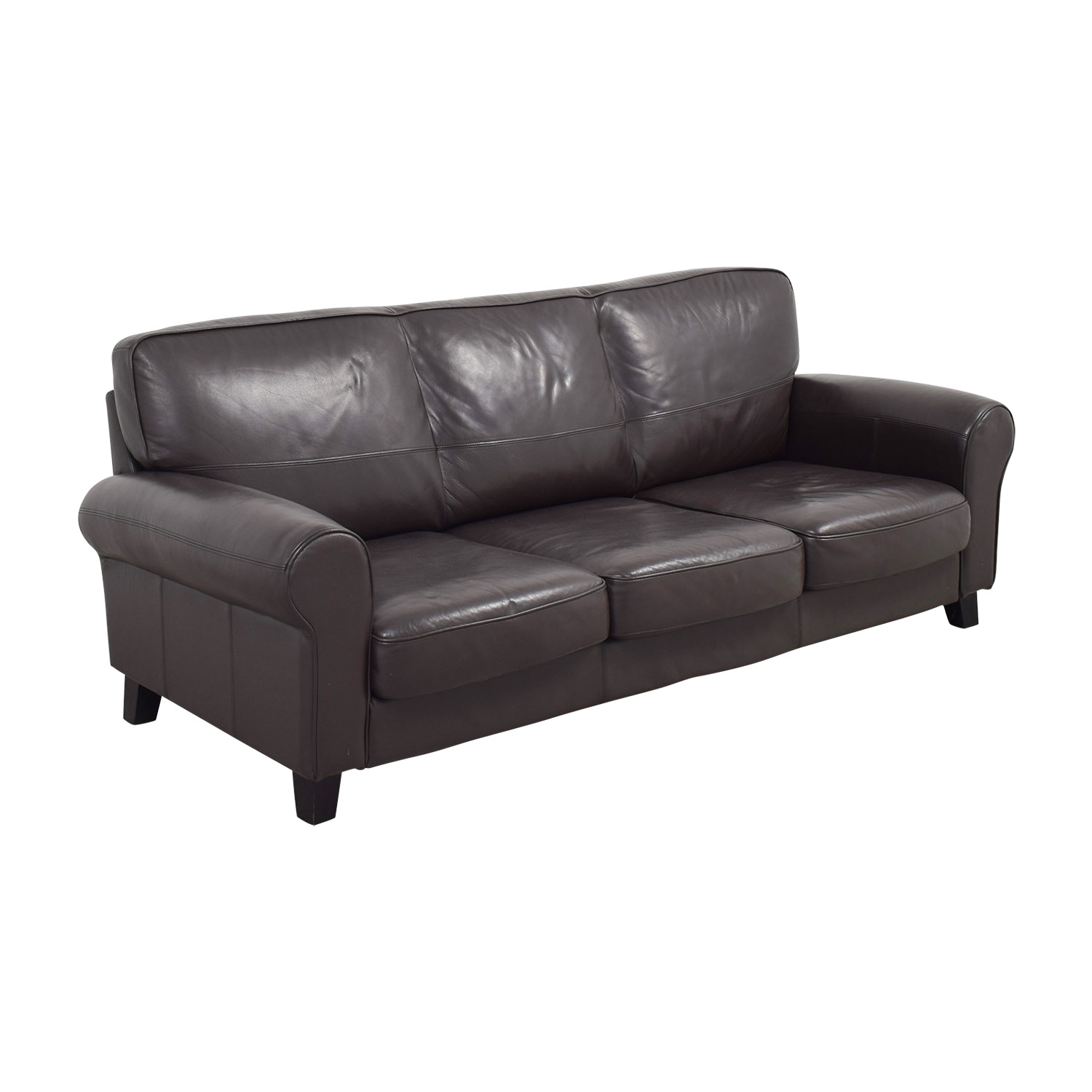 Ledersofa Ikea Säter Ikea Brown Leather Sofa Home Decor 88