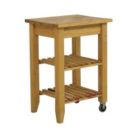 66% OFF - IKEA IKEA Butcher Block Kitchen Cart with ...