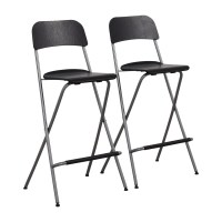 60% OFF - IKEA Foldable Barstool Chairs / Chairs