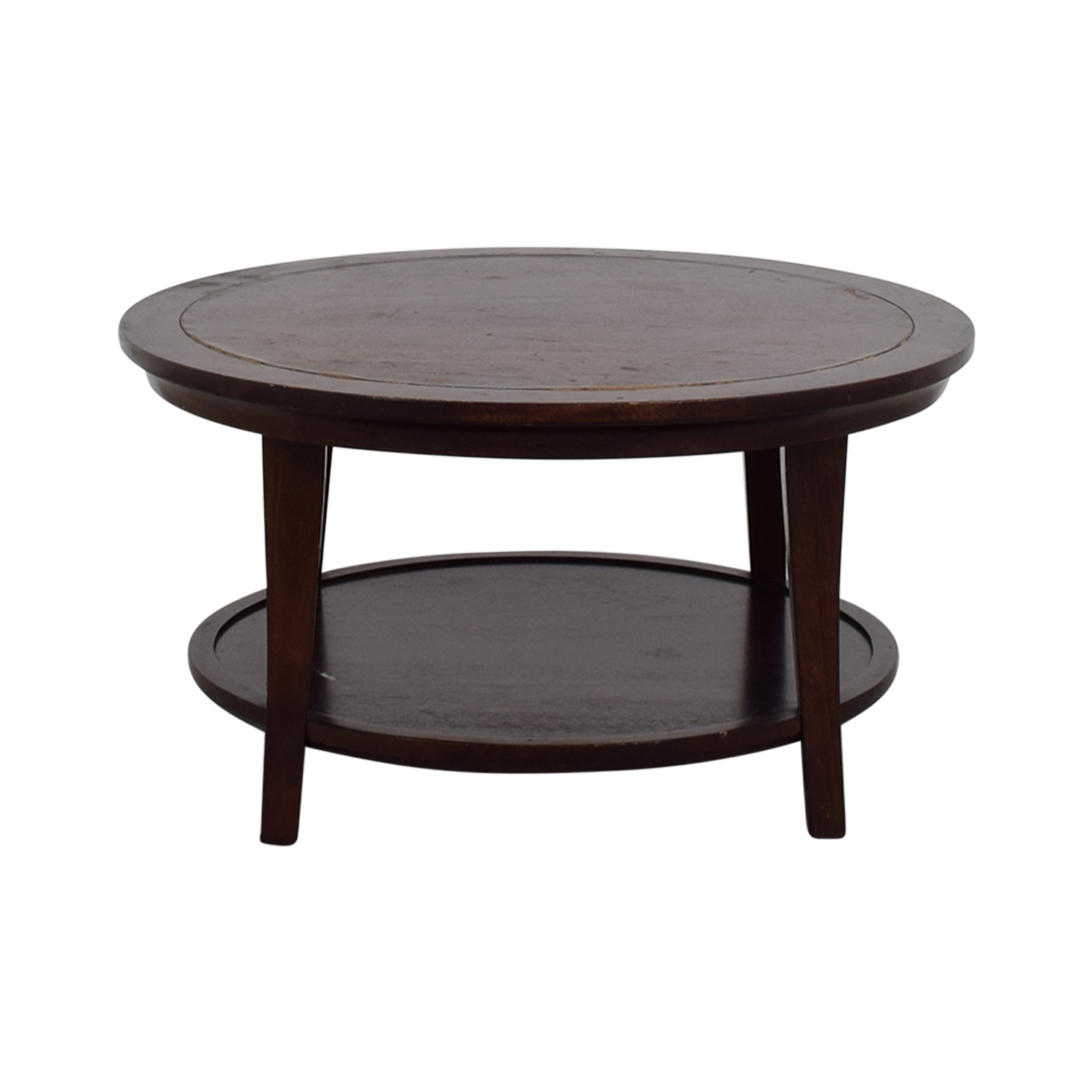 Images Of Round Coffee Tables Shop Round Coffe Table Used Furniture On Sale