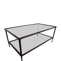74% OFF - Crate & Barrel Crate & Barrel Glass & Metal ...
