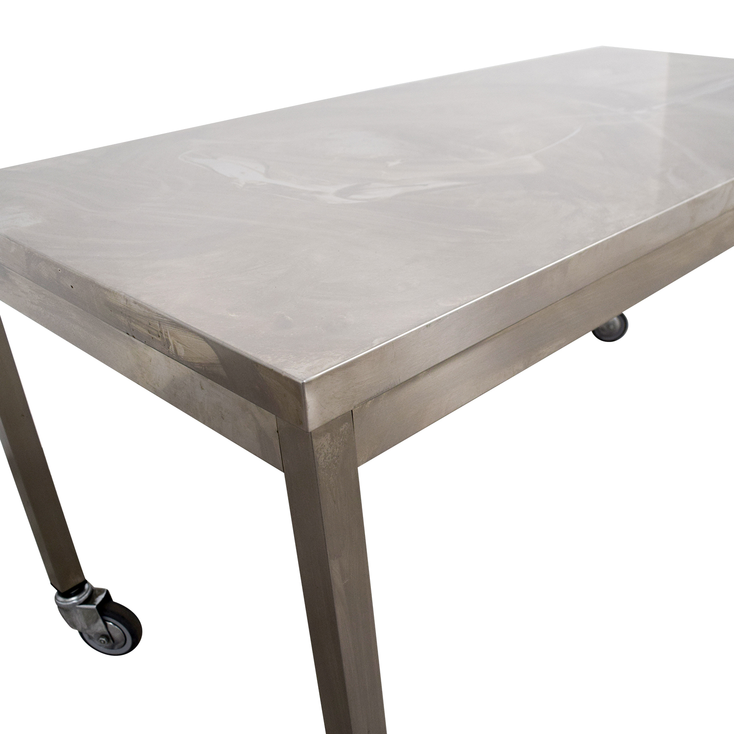Ikea Norden 59% Off - Wheeled Utility Metal Table / Tables