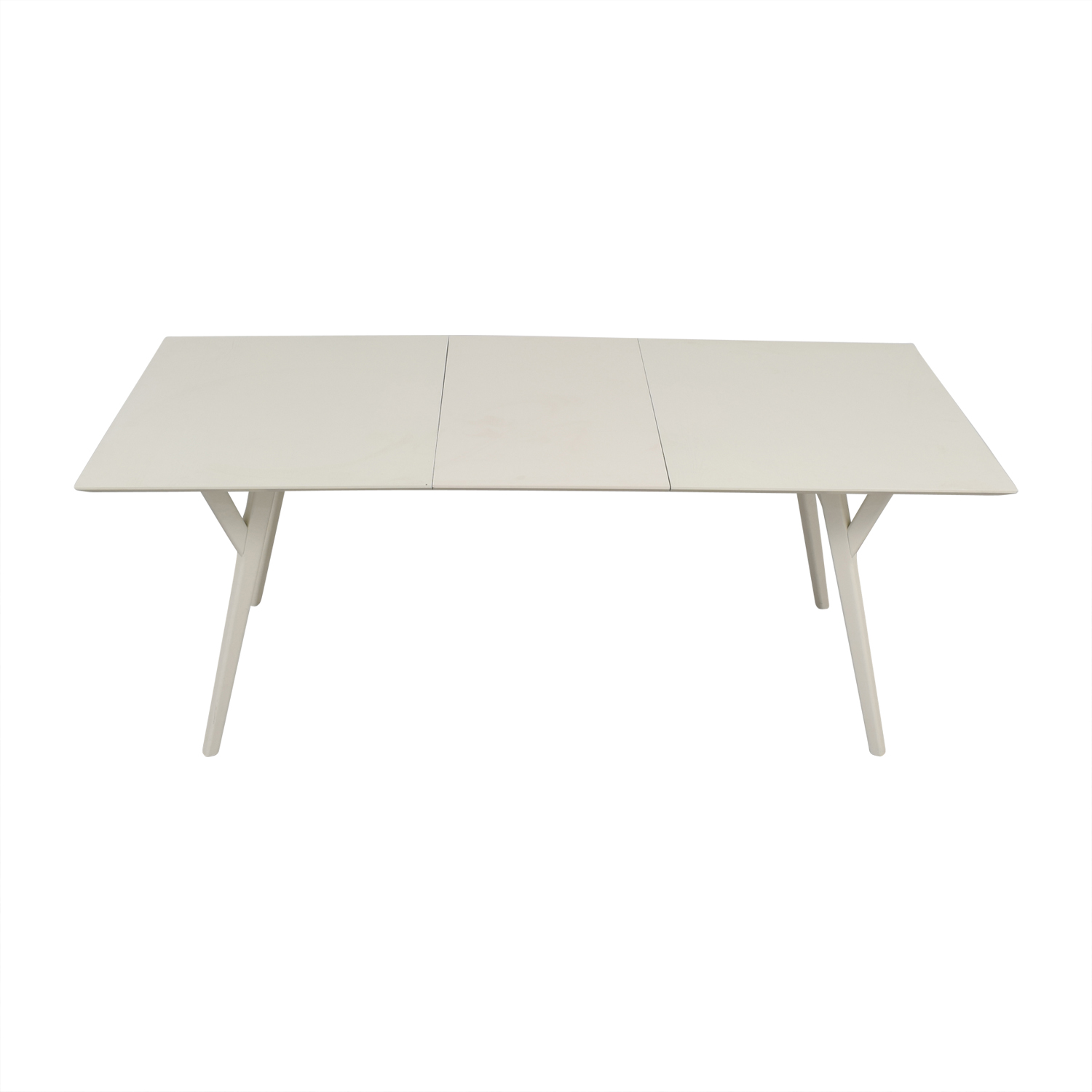Expandable White Dining Table 76 Off West Elm West Elm Terra Dining Table Tables