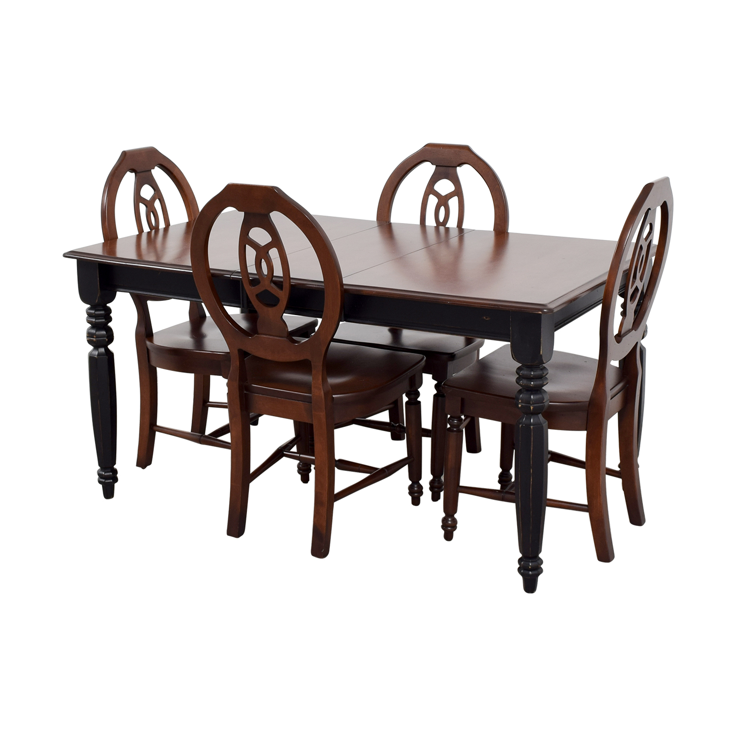 Second Hand Wood Sala Set 90 Off Classic Wooden Extendable Dining Set Tables