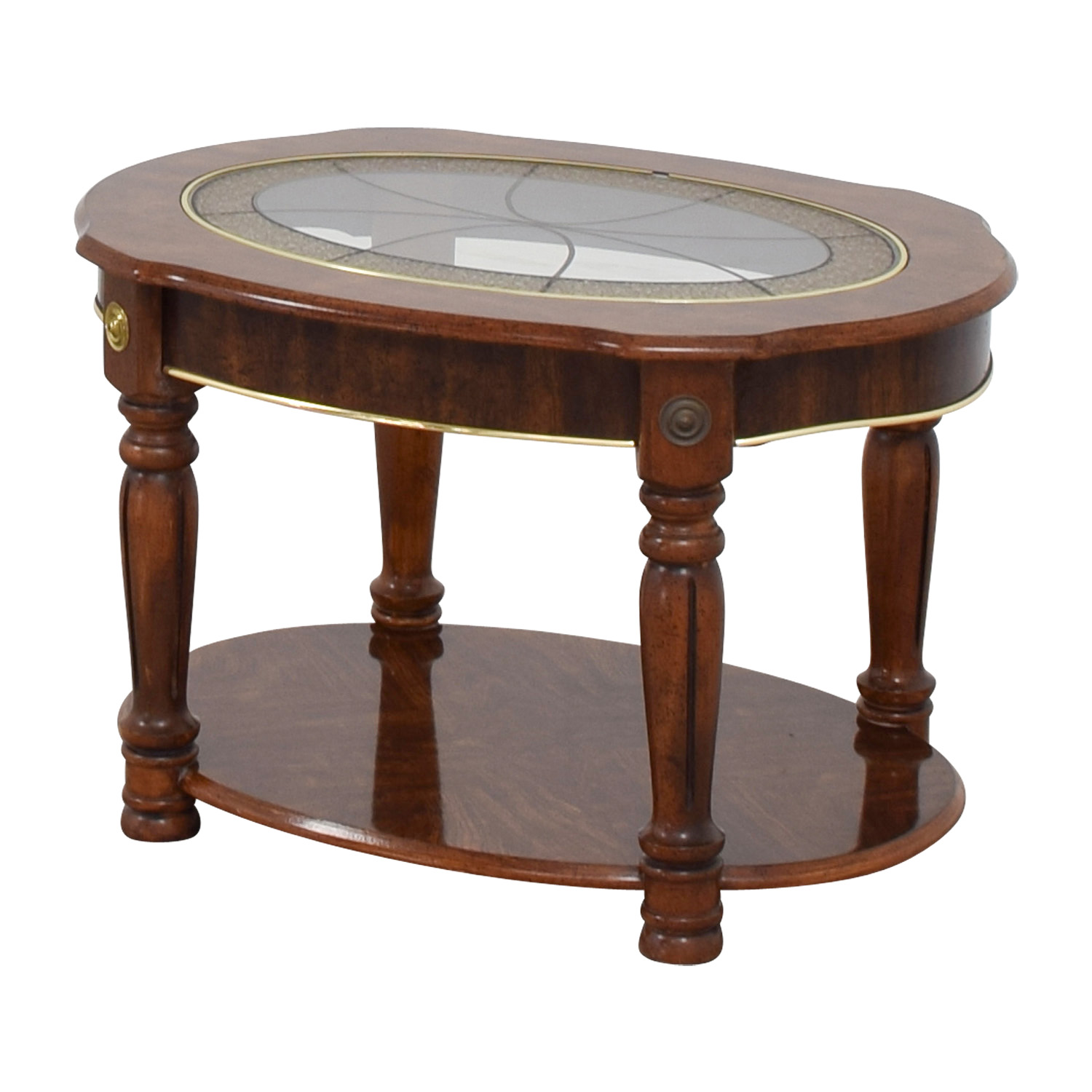 Coffee Tables Images 85 Off Vintage Small Round Coffee Table Tables