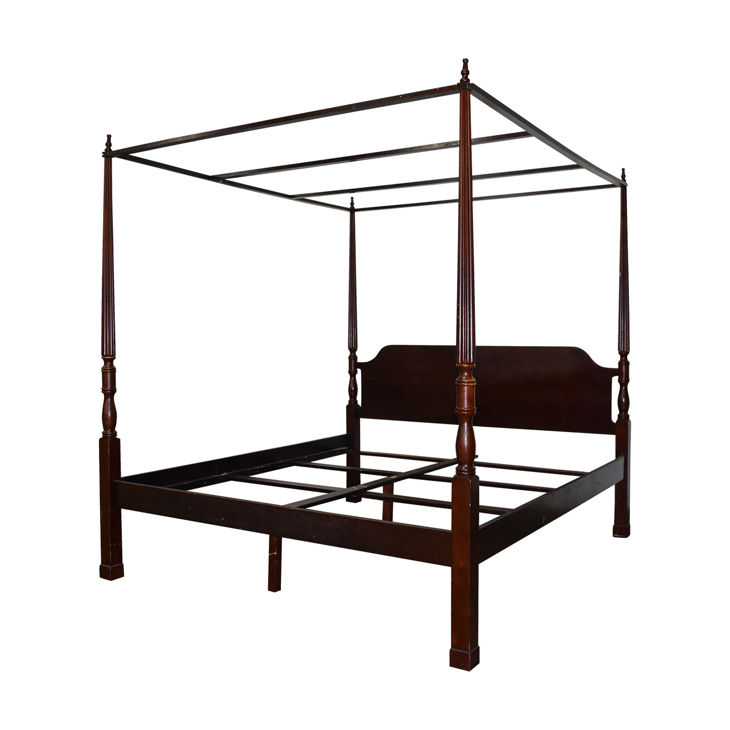 Canopy Bed Frame Canopy King And Bombay Bombay Canopy King Cherry Wood
