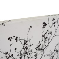 89% OFF - Modern Black and White Tree Branches Canvas / Decor
