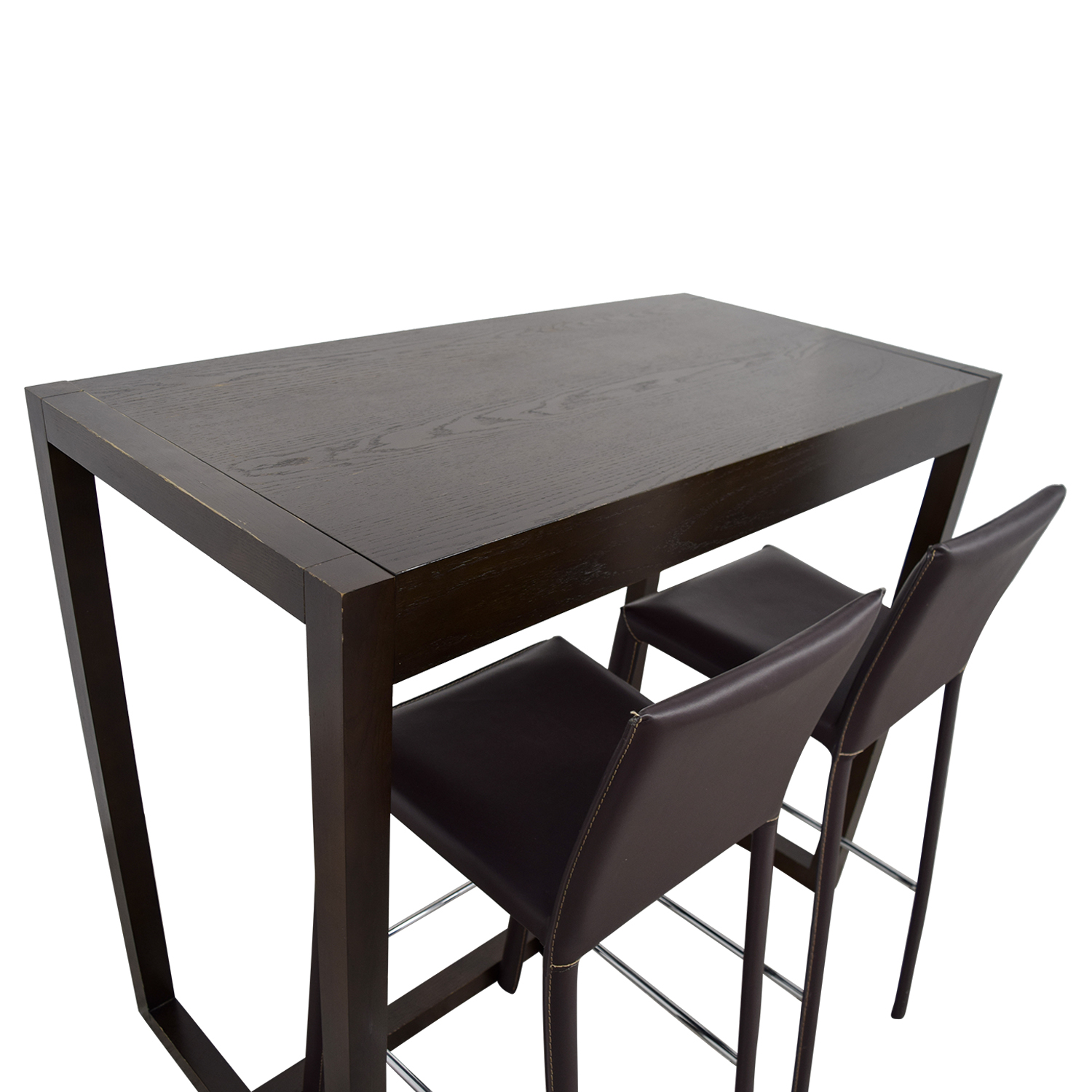 88 Off West Elm West Elm Bar Table With Bar Stools Tables