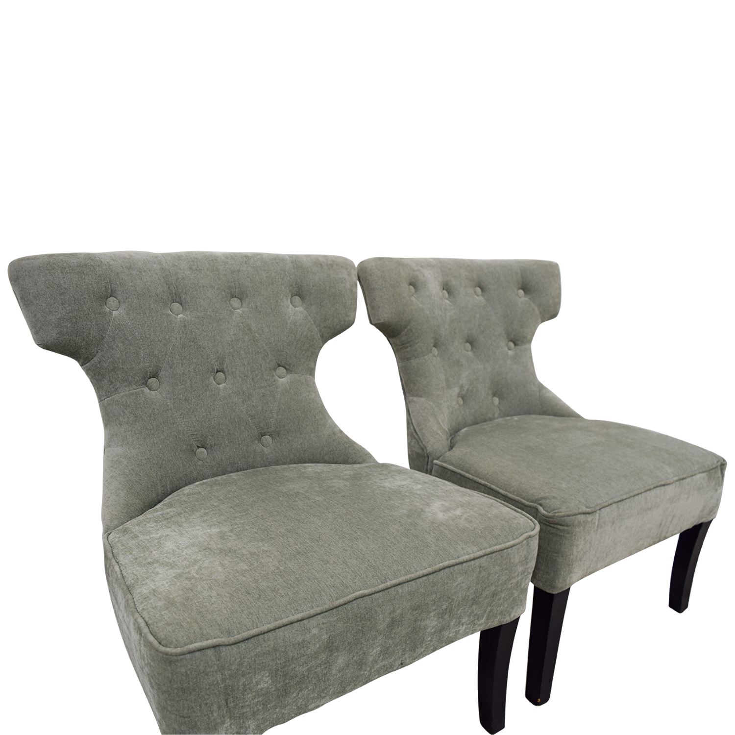 Modern Accent Chairs 79 Off All Modern All Modern Ritz Teal Tufted Accent