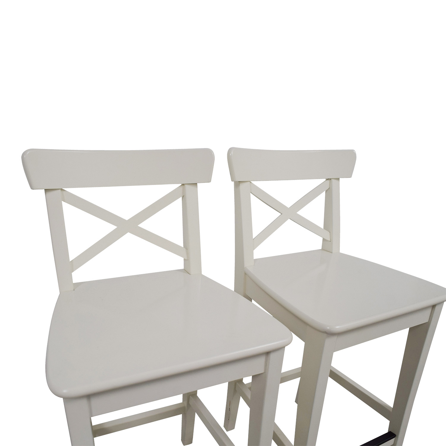 36 Inch Bar Stools Ikea 63 Off Ikea Ikea White Bar Stools Chairs