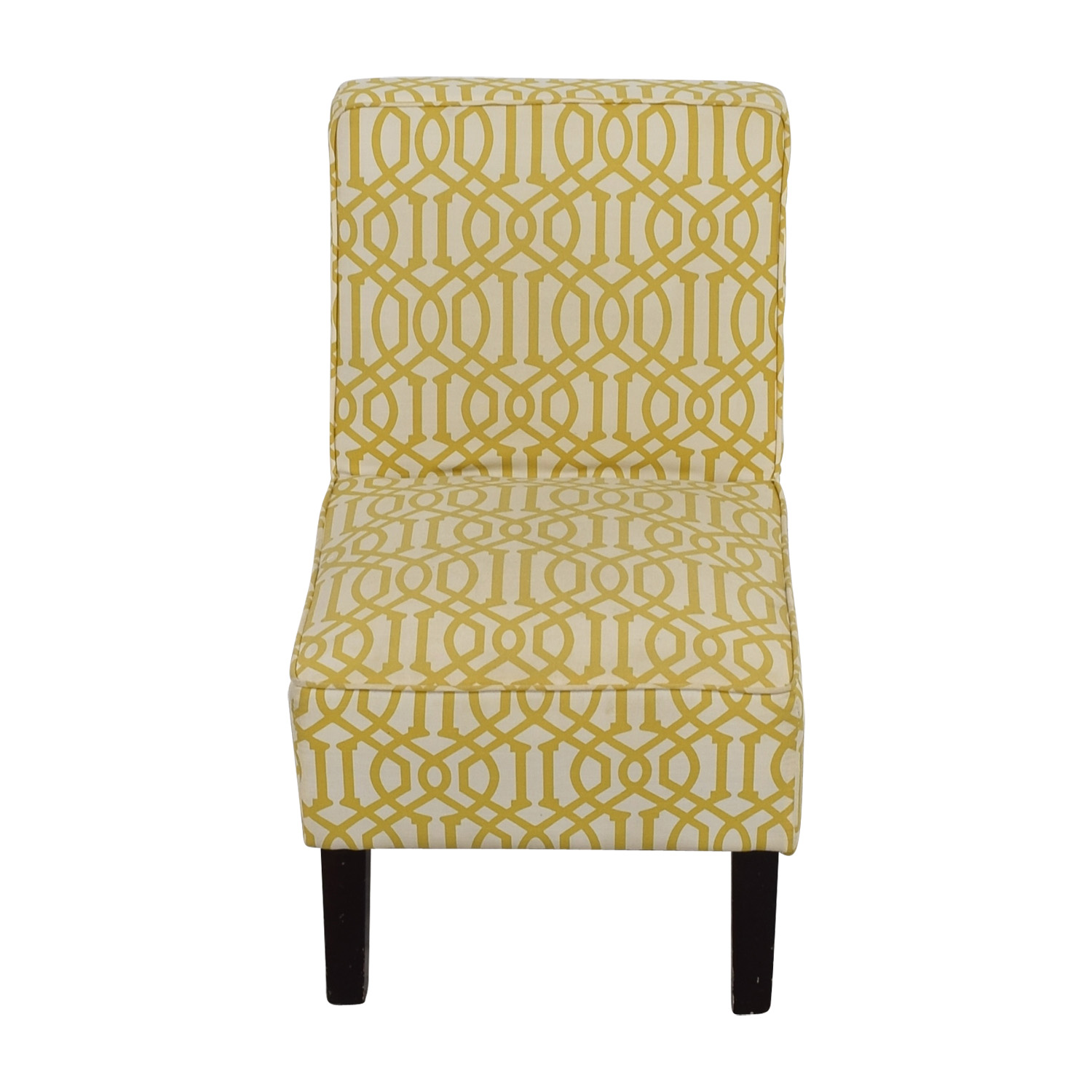 Accent Chairs Prices 85 Off Yellow And White Accent Chair Chairs