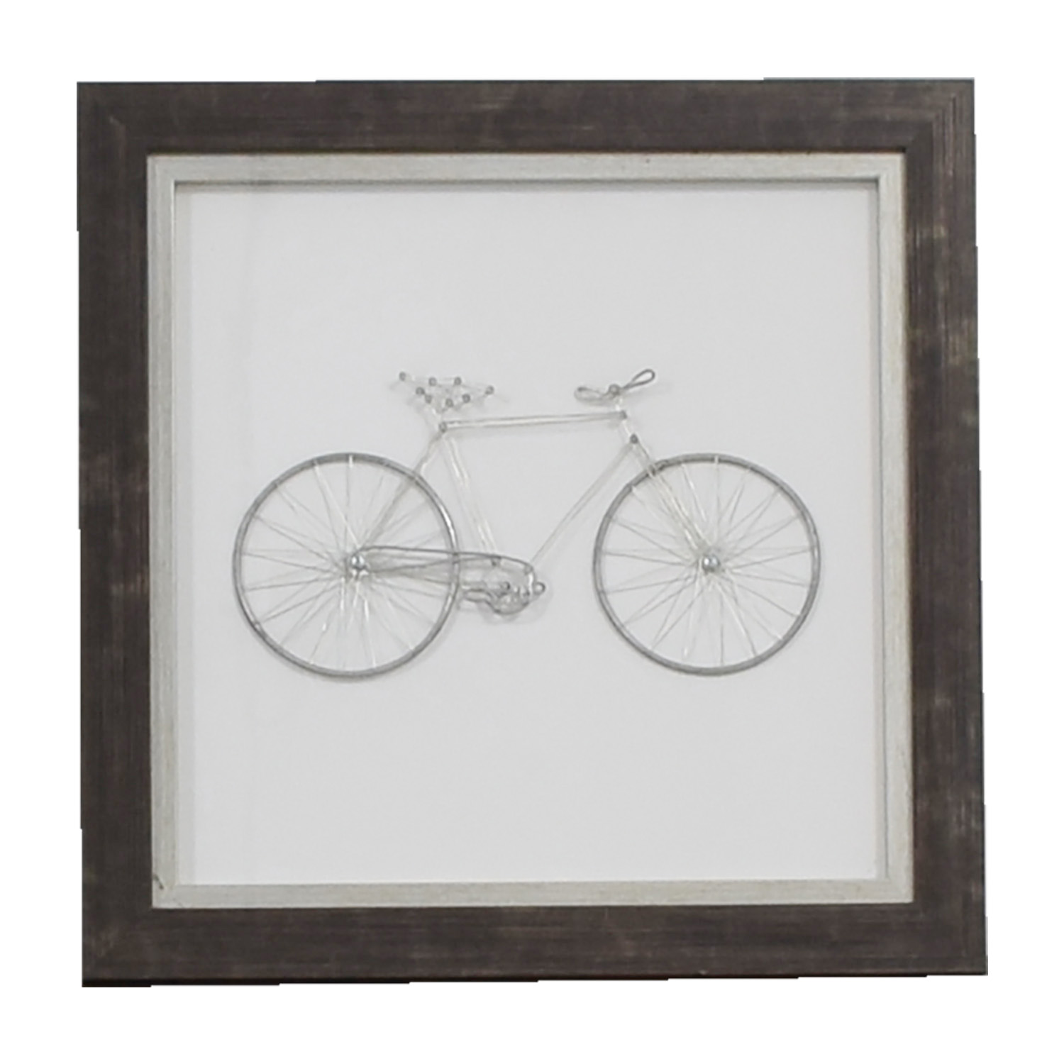 Art Decor 42 Off Metal Bicycle Framed Art Decor