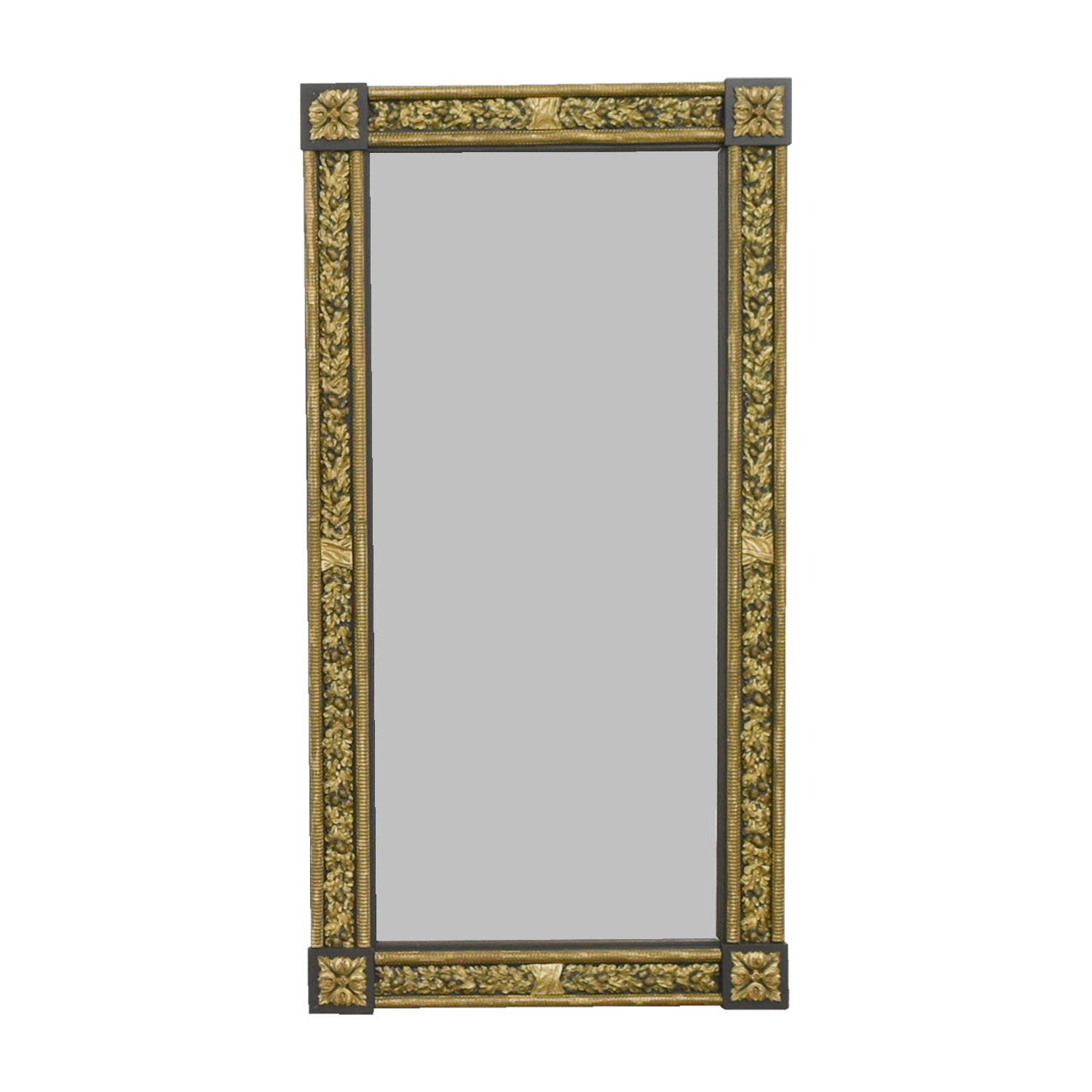 Wall Mirror Decor 84 Off Gold And Silver Framed Wall Mirror Decor