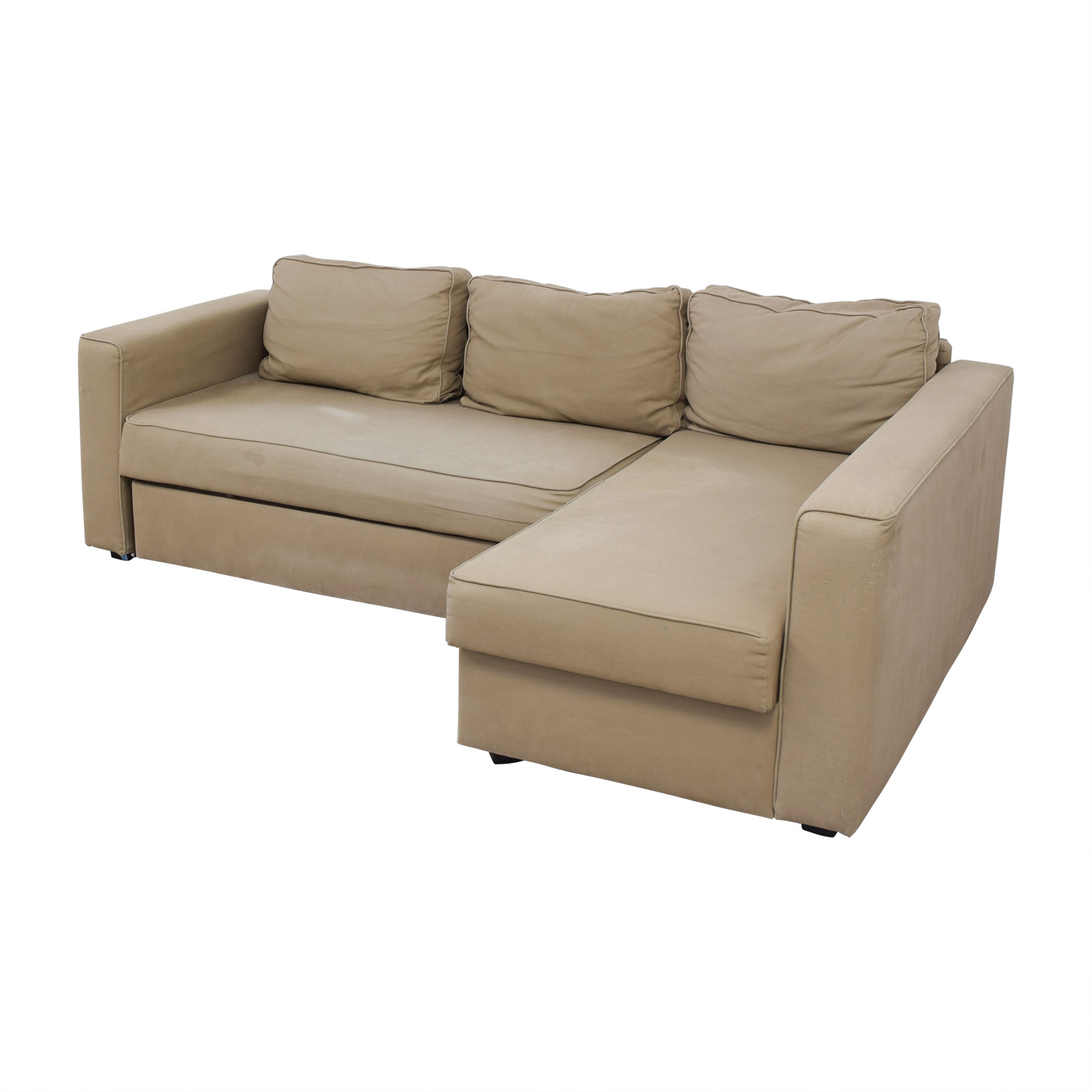 62 Off Ikea Ikea Manstad Sectional Sofa Bed With