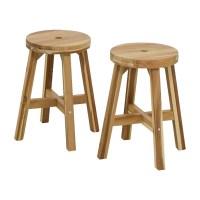 50% OFF - IKEA IKEA Skogsta Natural Stools / Chairs