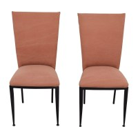 77% OFF - Marshall Fields Marshall Fields Pink Upholstered ...
