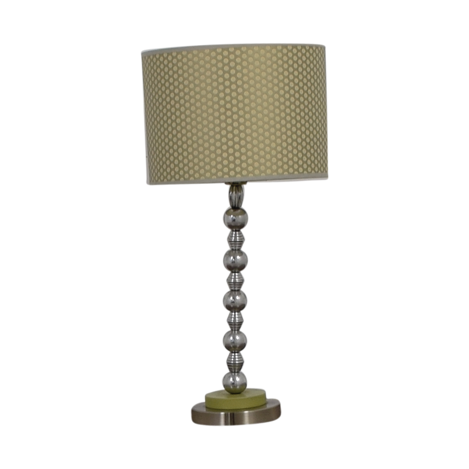 Contemporary Lamp Tables 70 Off Contemporary Gold And Green Table Lamp Decor