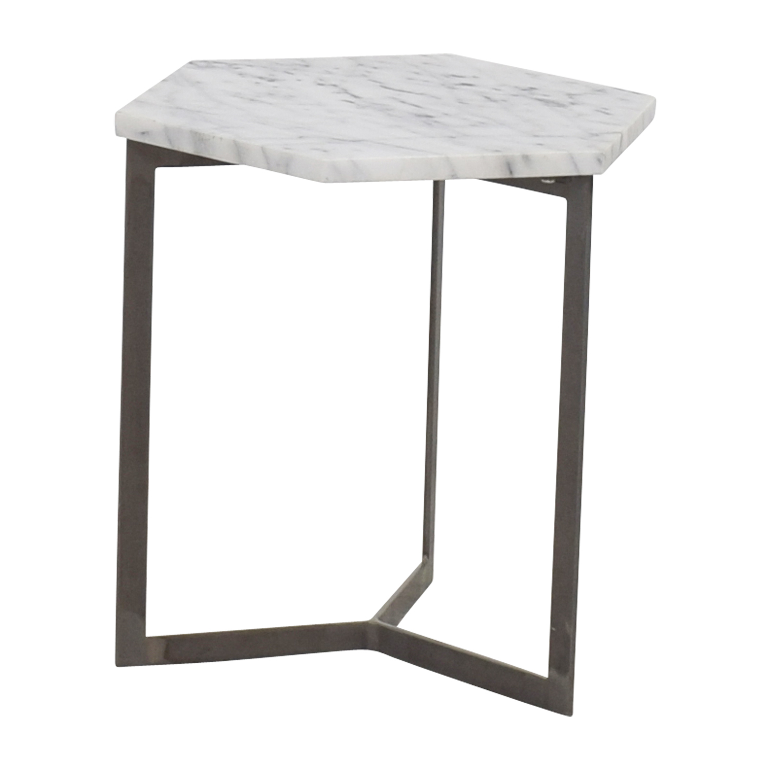Buy Side Table 50 Off Marble Hexagonal Side Table Tables