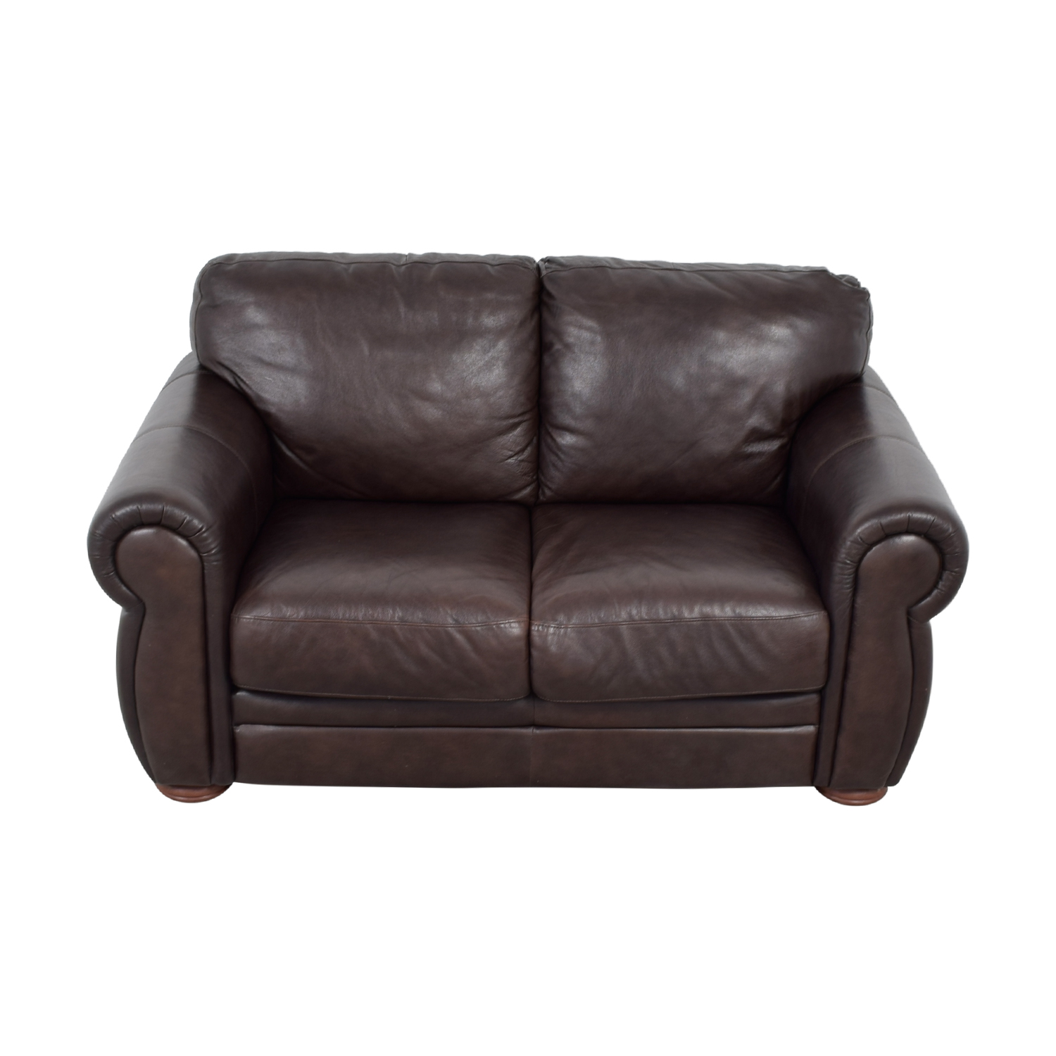 Cushions For Brown Leather Sofas 66 Off Raymour And Flanigan Raymour And Flanigan Brown