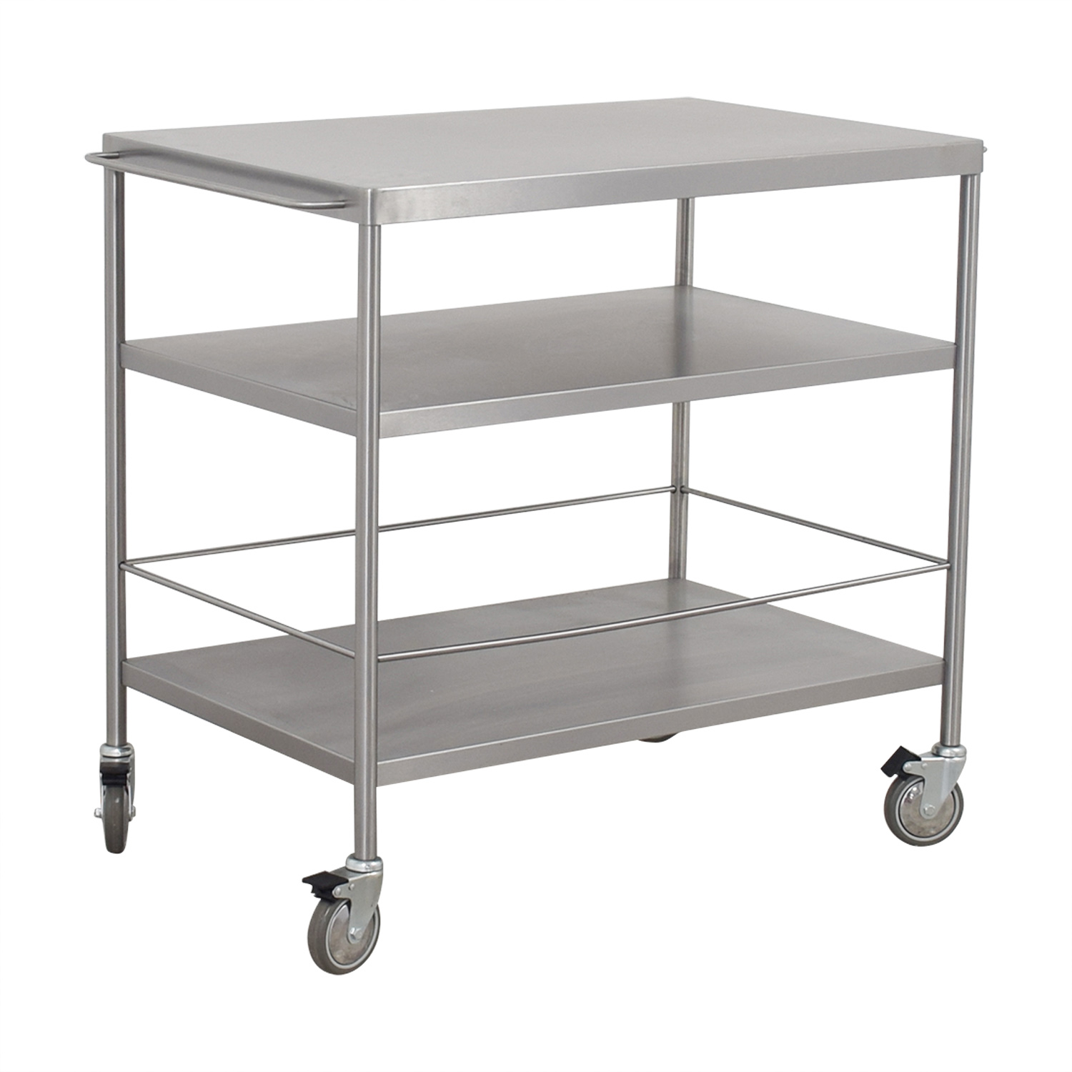 Ikea Kitchen Top 59 Off Ikea Ikea Stainless Steel Kitchen Cart Tables