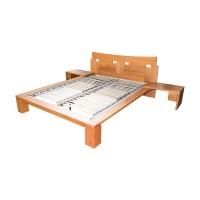69% OFF - Roche Bobois Roche Bobois Wood Platform Full Bed ...