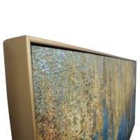 59% OFF - World Market World Market Teal & Gold Wall Art ...