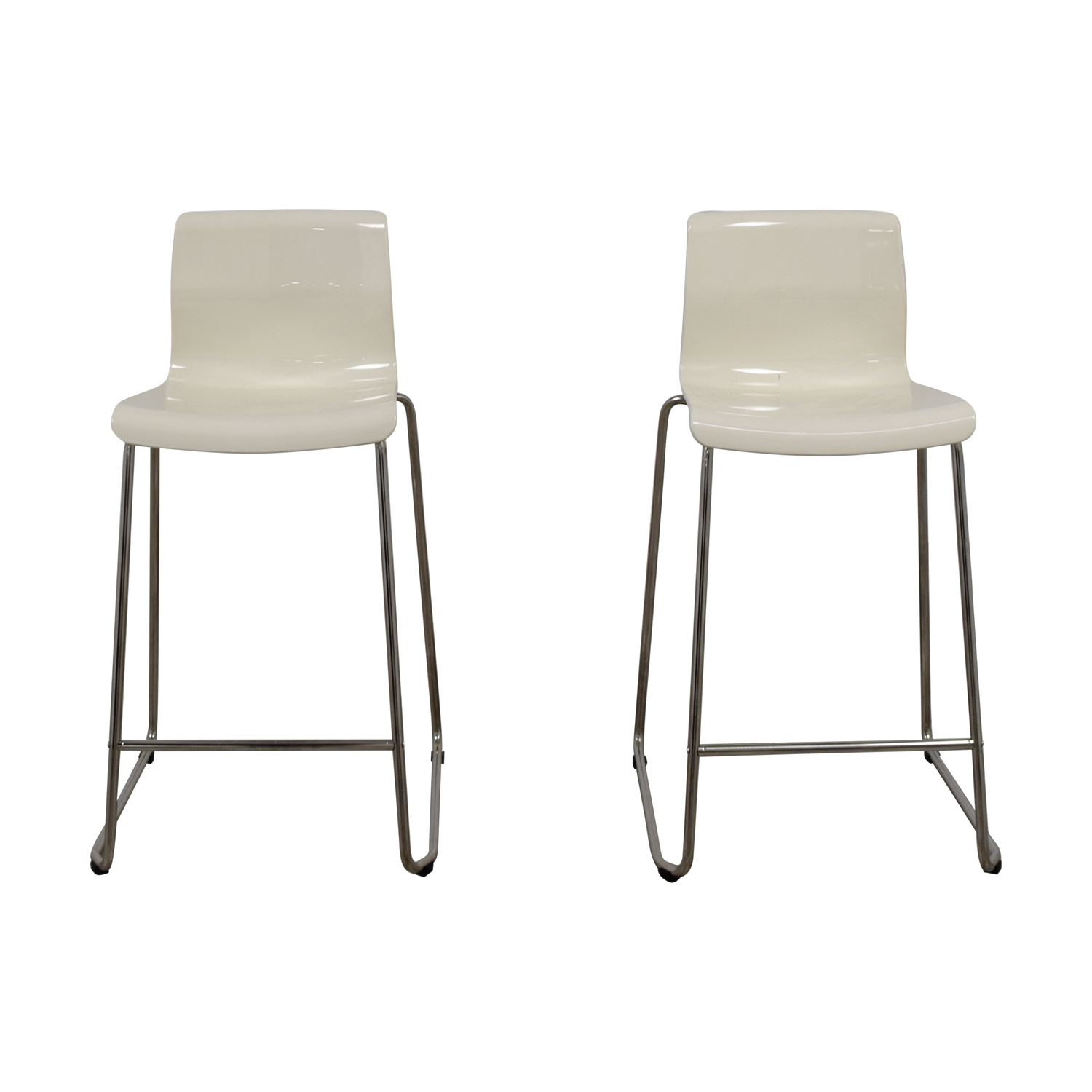 36 Inch Bar Stools Ikea 71 Off Ikea Ikea White Bar Stools Chairs