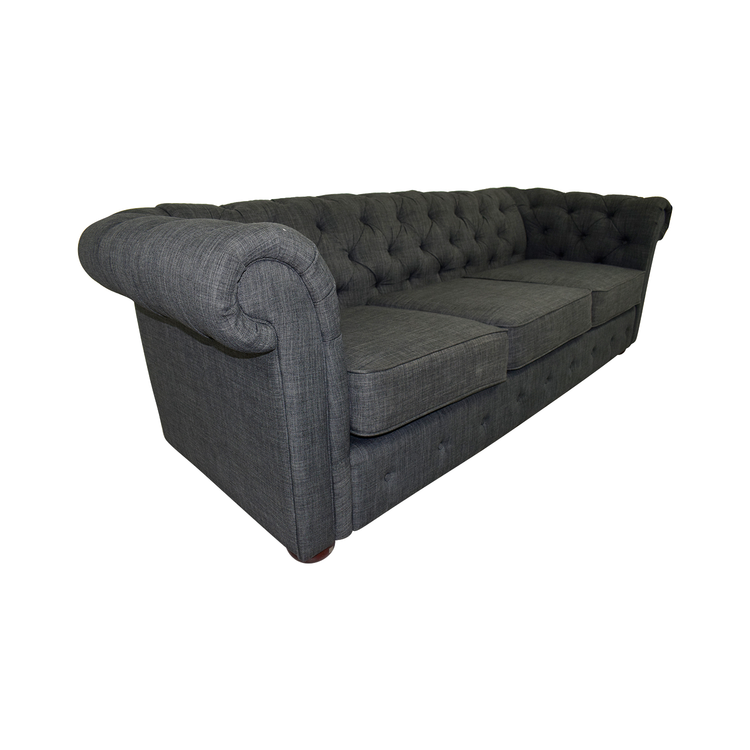 Buy A Chesterfield Sofa 63 Off Greenworld Chesterfield Style Charcoal Sofa Sofas