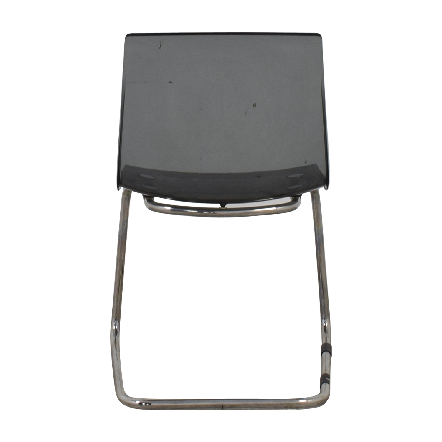 Ikea Black Chair 81 Off Ikea Ikea Tobias Sheer Black Chair Chairs
