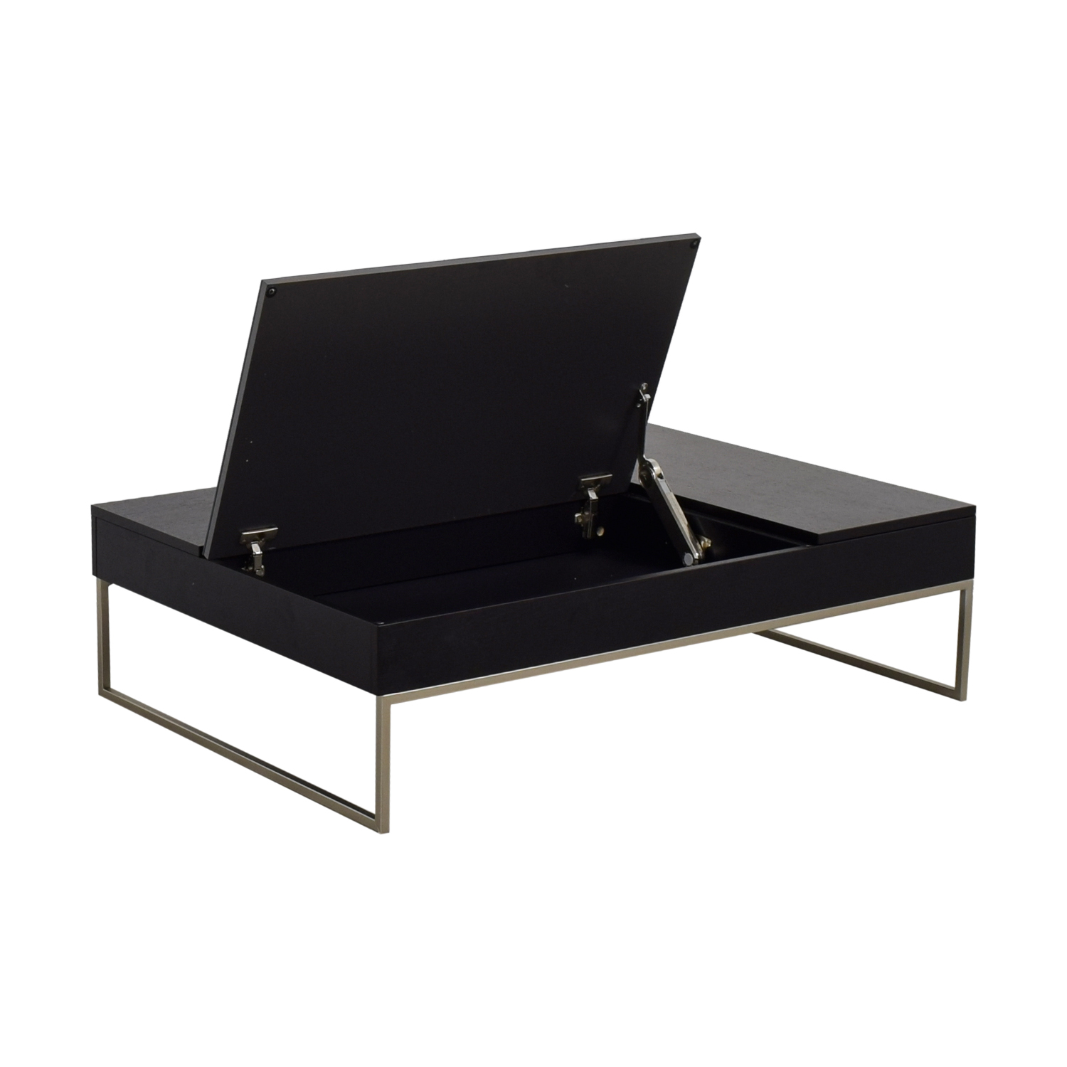 Black End Table With Storage 72 Off Boconcept Boconcept Chiva Black Coffee Table