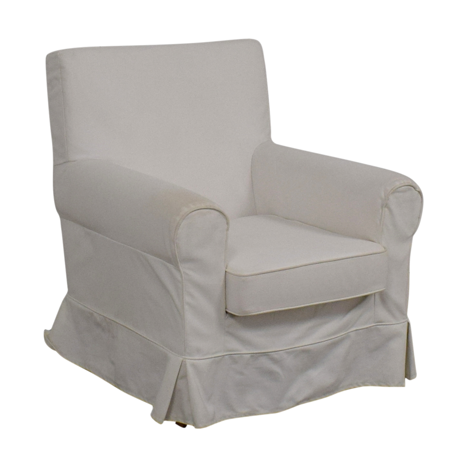 Accent Chairs Prices 90 Off Ikea Ikea Eltorp Jennylund White Skirted Accent