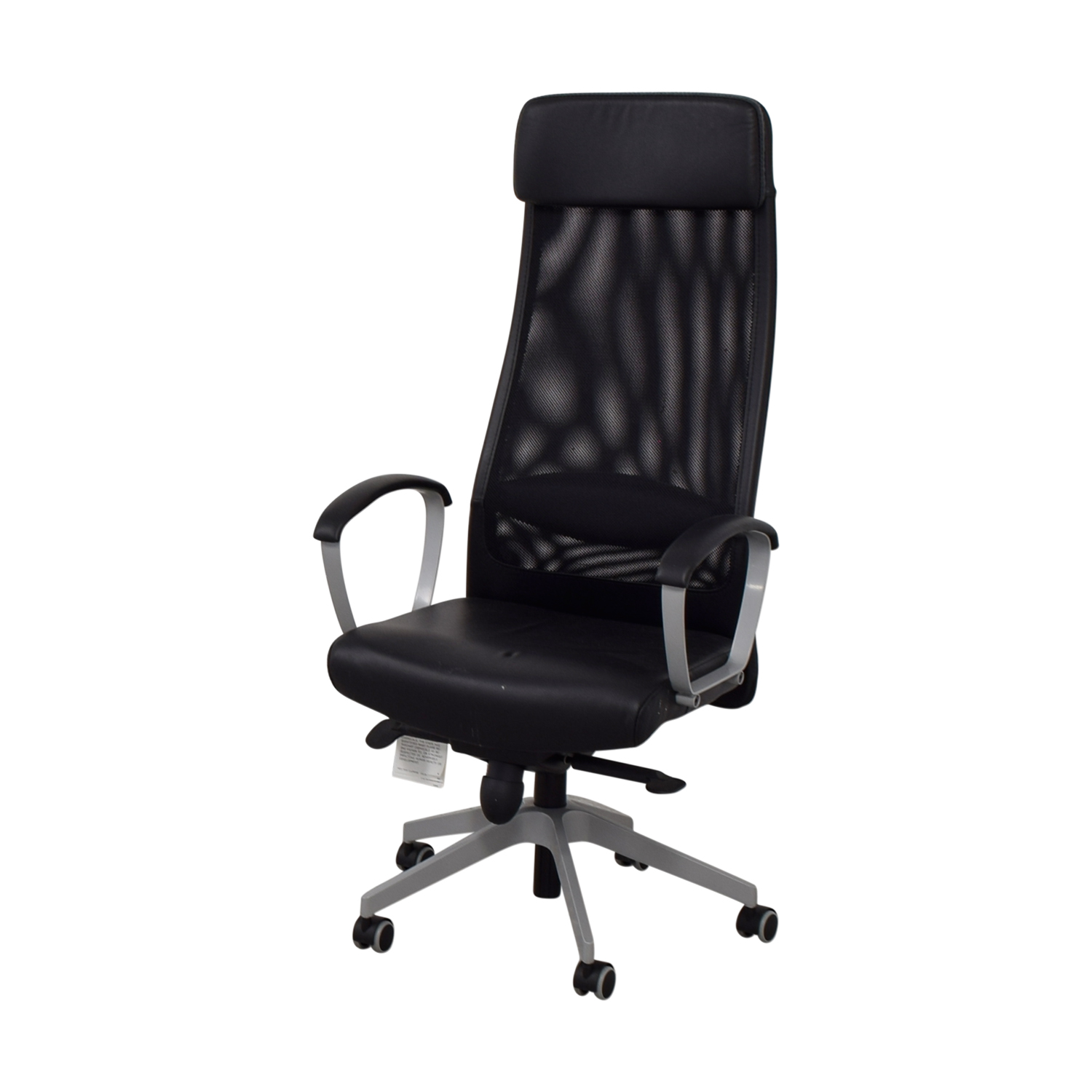 Ikea Black Chair 83 Off Ikea Ikea Black Adjustable Reclining Office