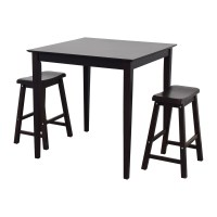 80% OFF - IKEA IKEA Bar Table and Stools / Tables