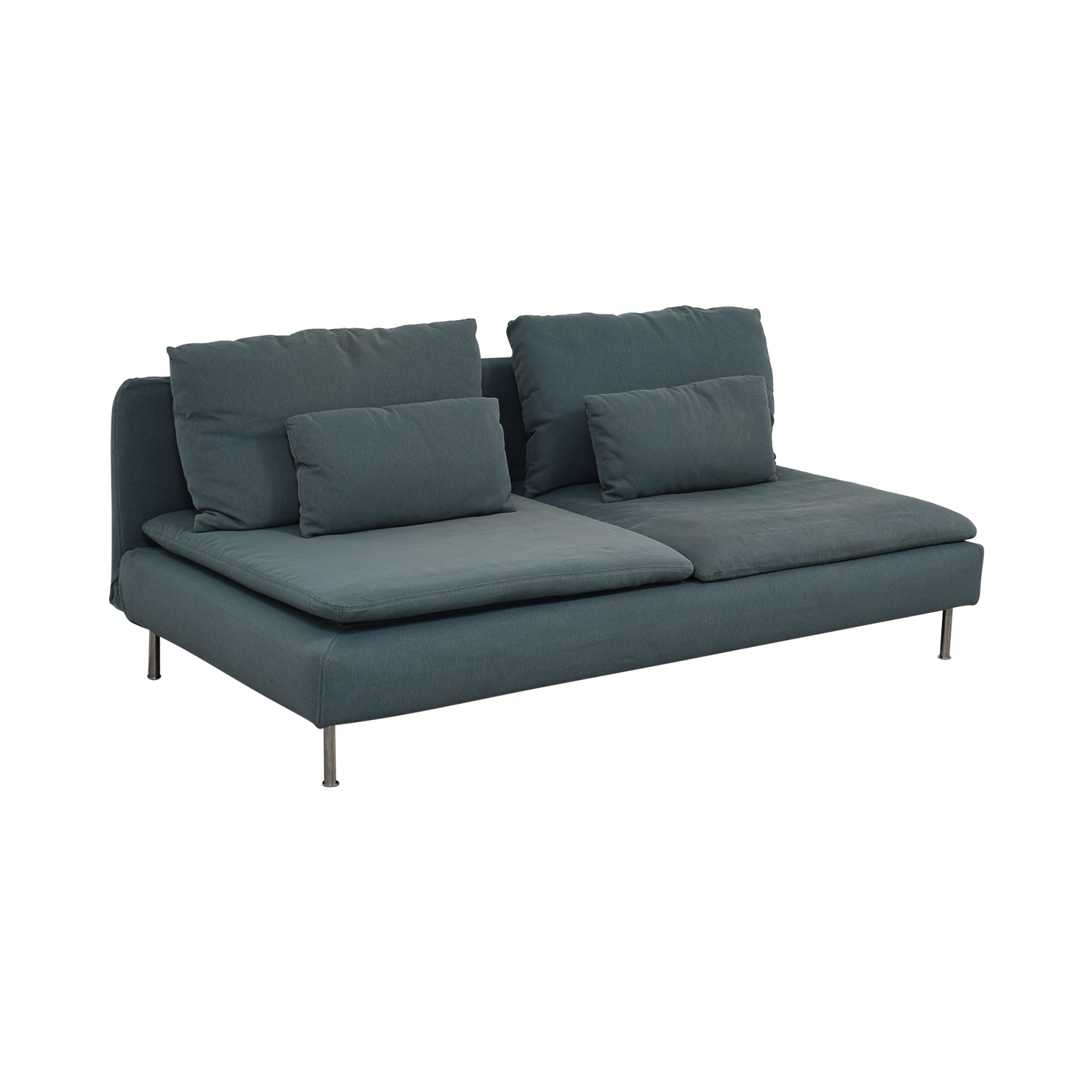 Ikea Sofa Wilj Armless Loveseat Ikea Arm Designs