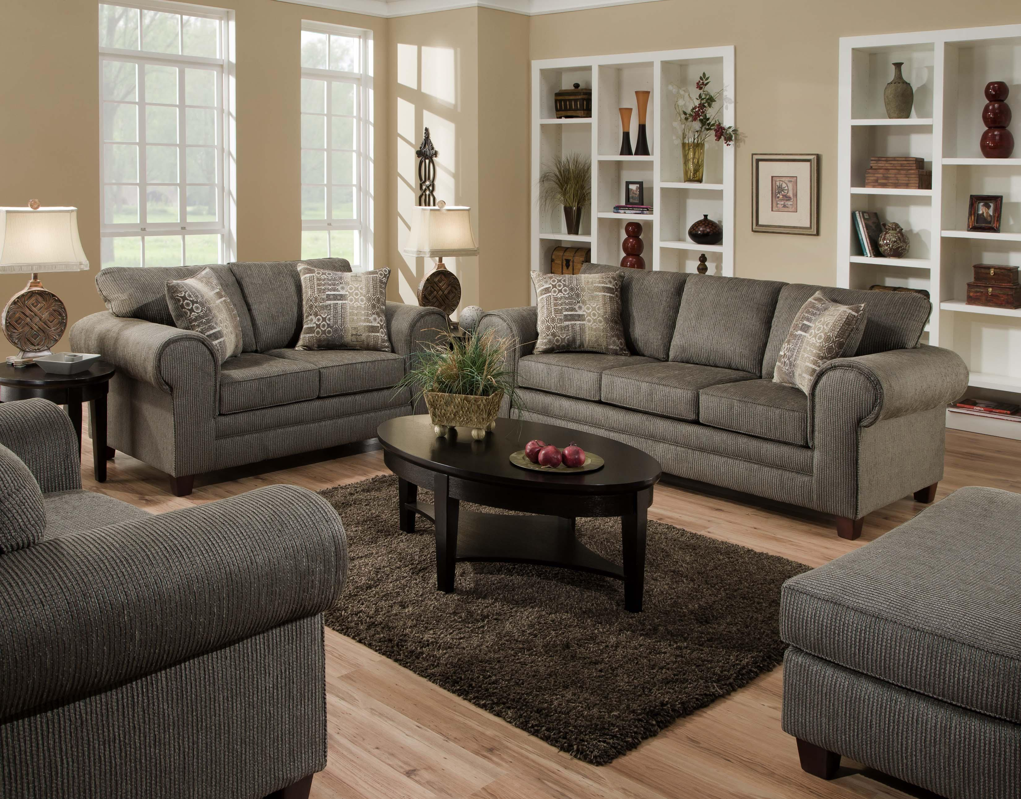Living Room Sofas Sets 3750 Stationary Living Room Group By American Furniture At Darvin Furniture