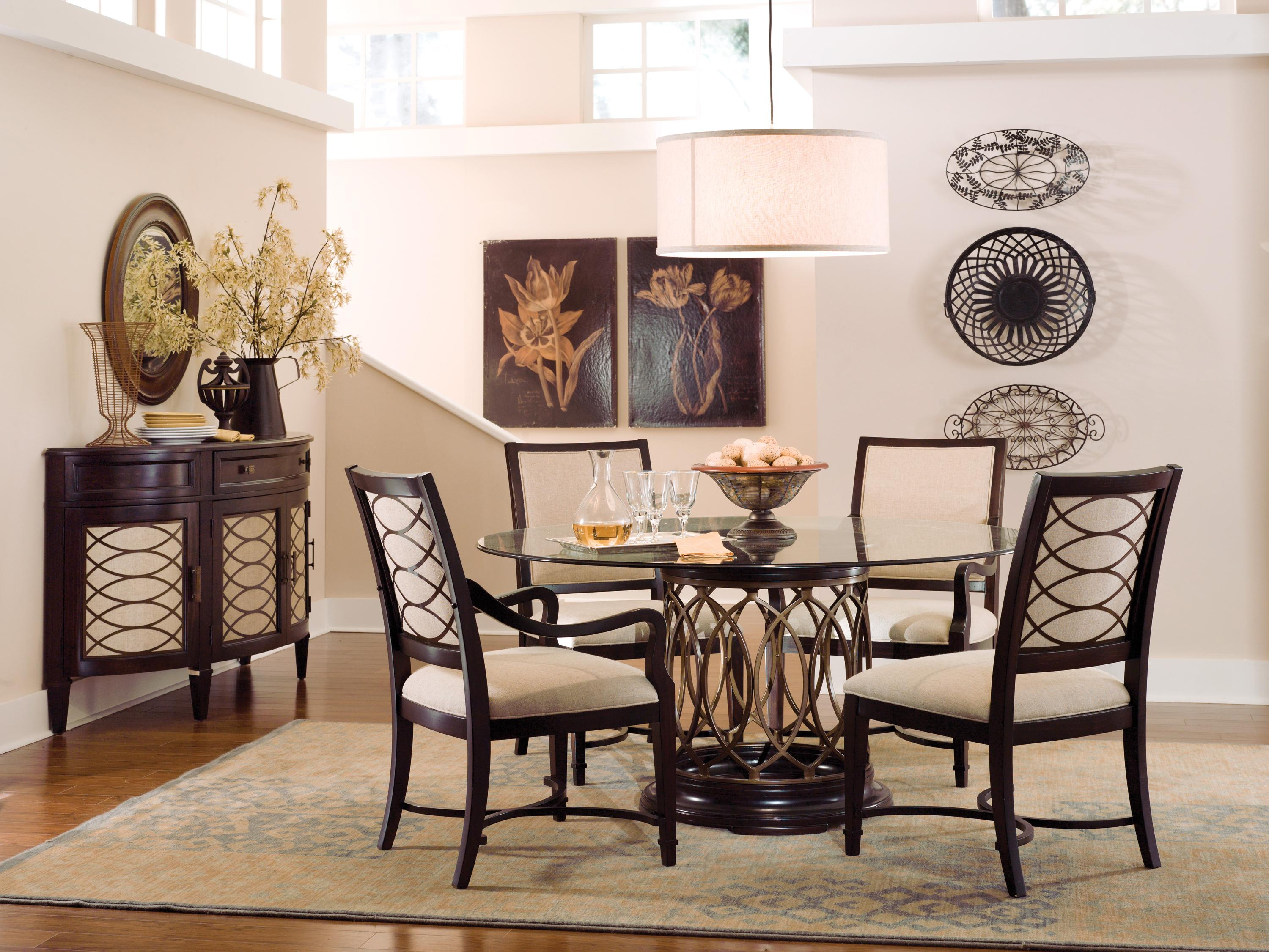 Breakfast Room Tables Intrigue Formal Dining Room Group By A R T Furniture Inc At Olinde S Furniture