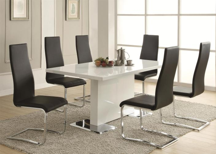 ☆▻ Engaging Sample of Square Glass Dining Table With Stylish ...