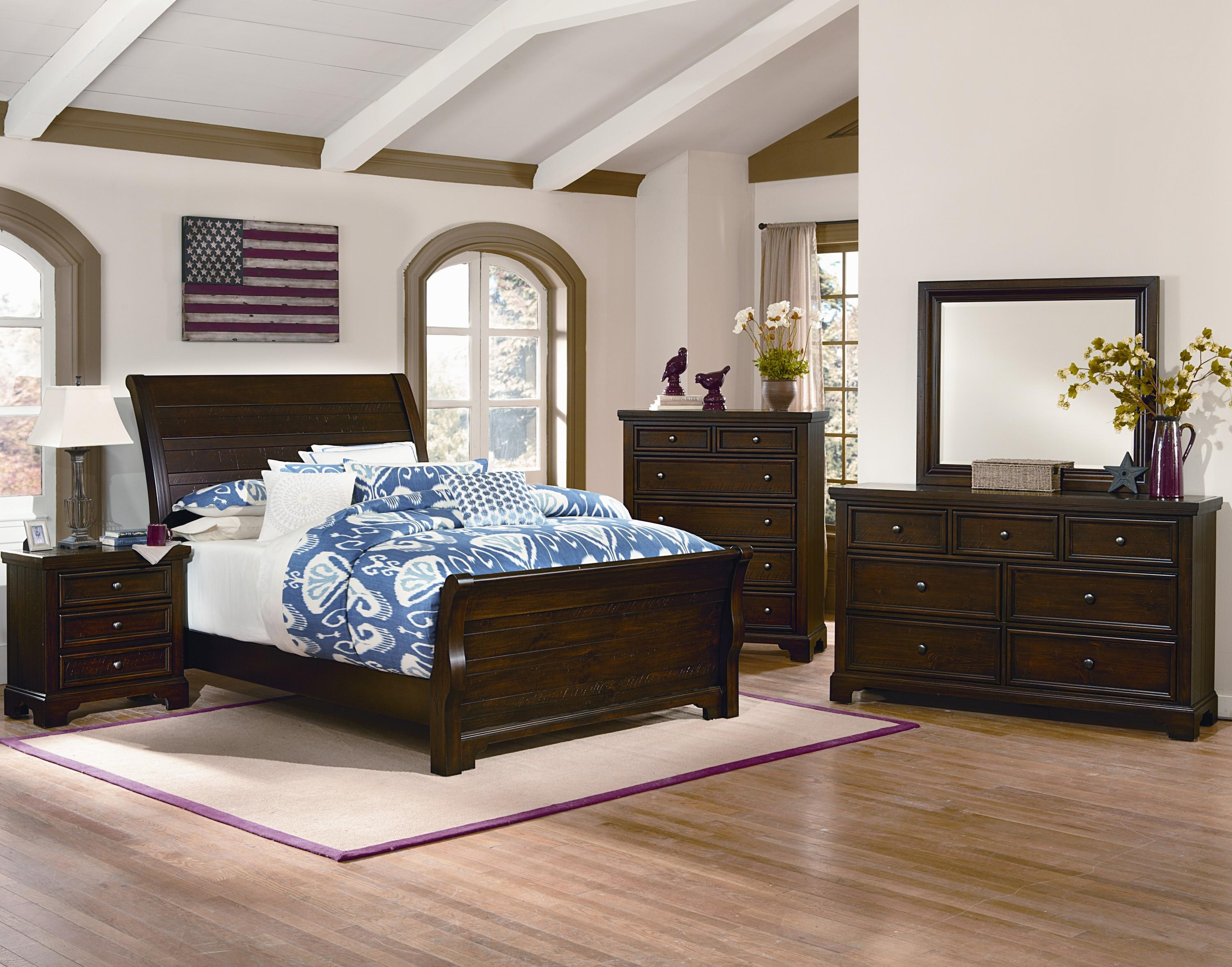 Storage Beds Edmonton Hanover 810 By Vaughan Bassett Hudson S Furniture Vaughan