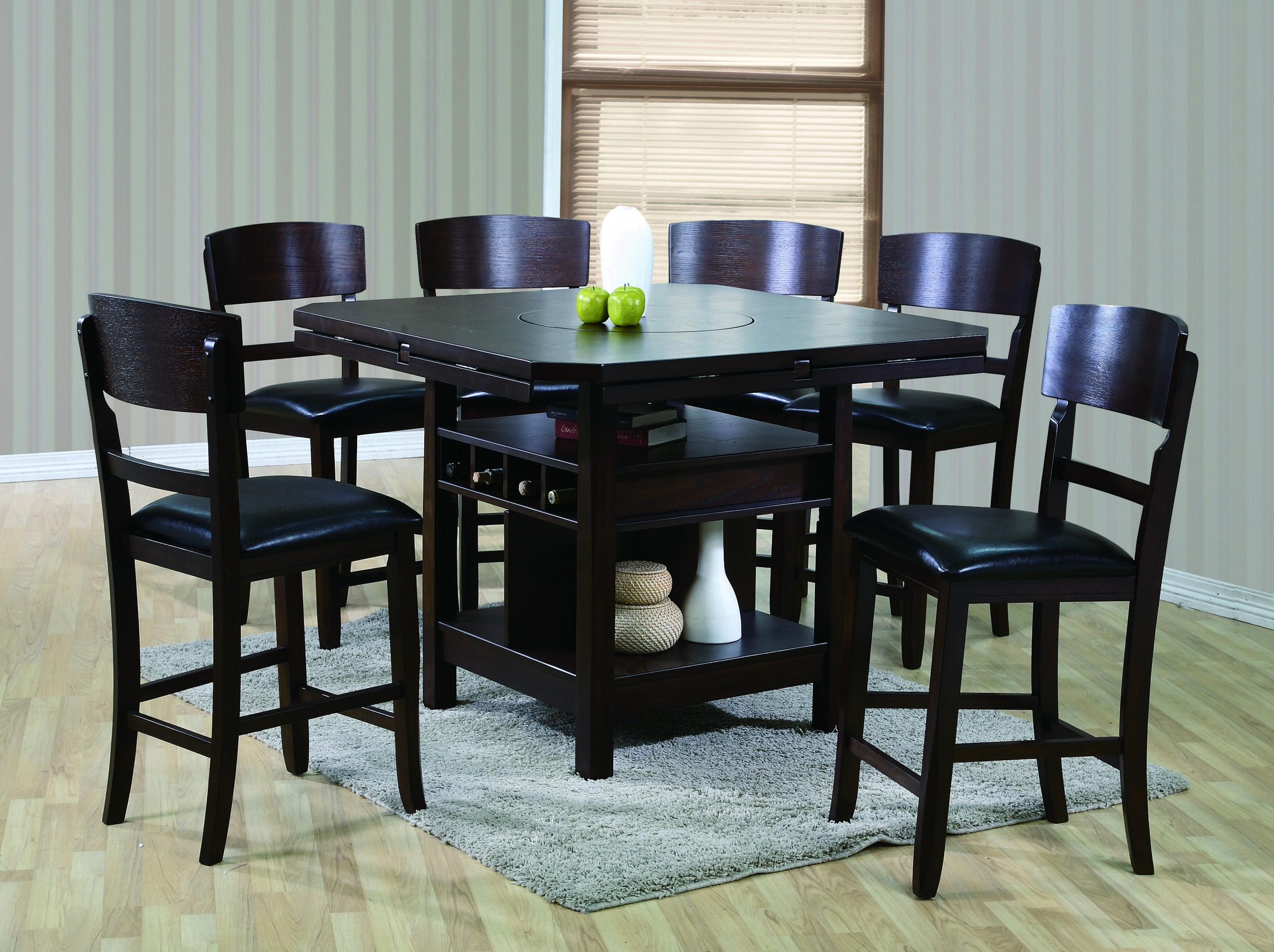 Dining Table Height Cm 5 Piece Black Pub Table Set And Cm Conner 5 Piece Counter