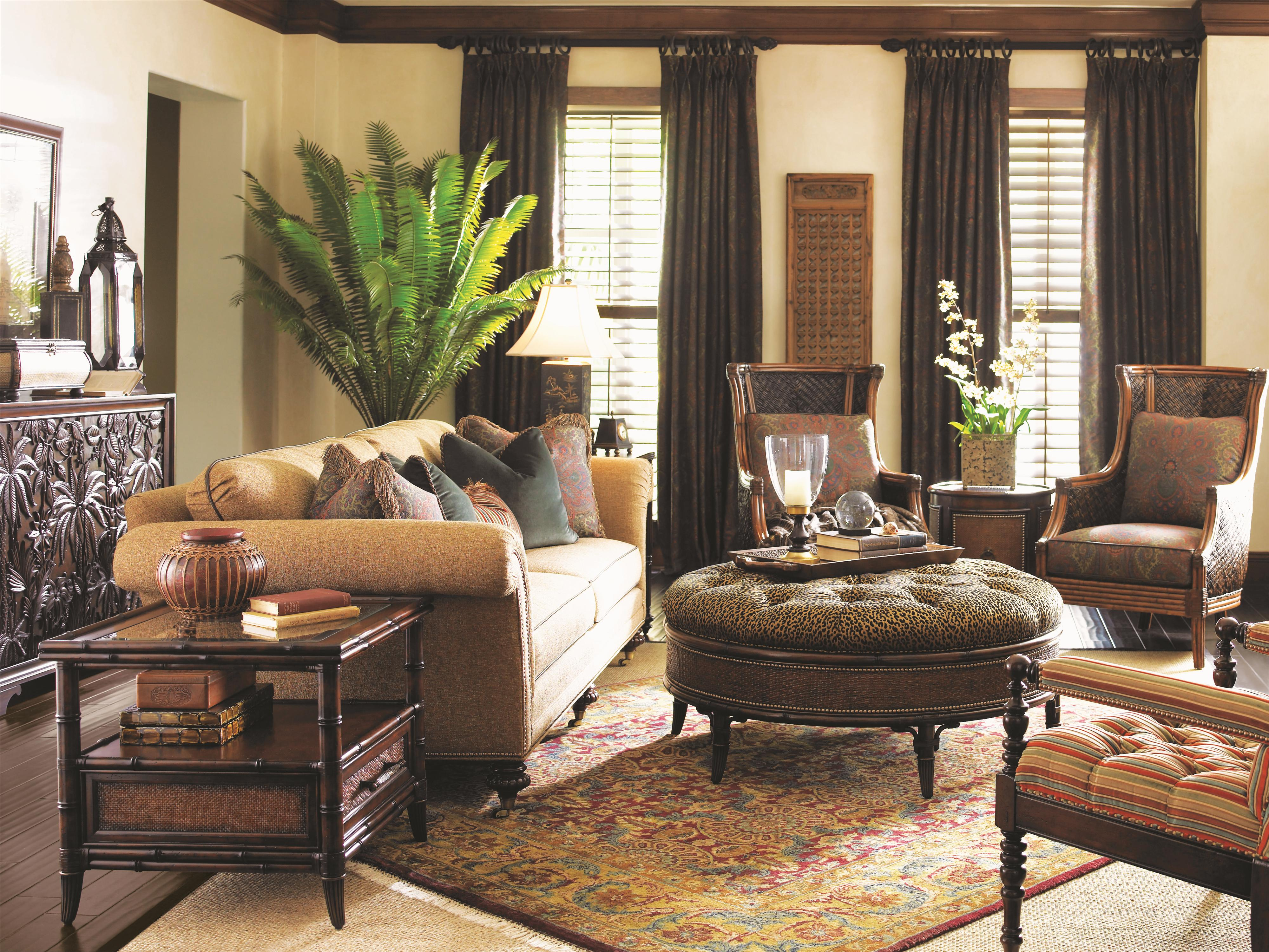 West Indies Interior Decorating Style Landara 545 By Tommy Bahama Home Baer 39s Furniture