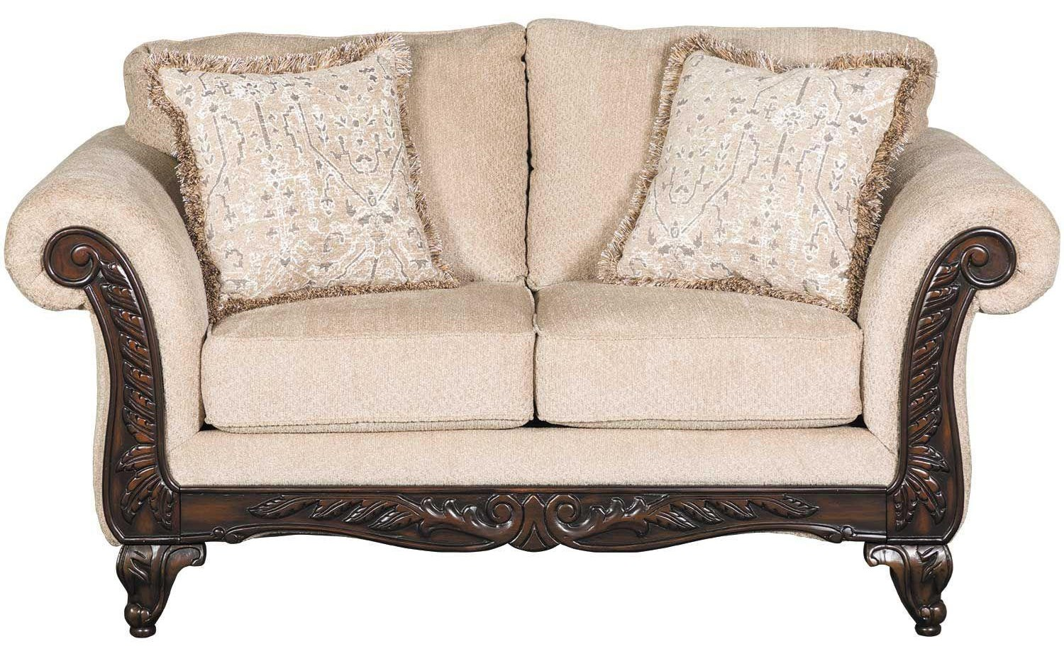 Affordable Furniture Emma Wheat Loveseat Royal Furniture Loveseats
