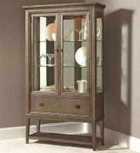 American Drew Park Studio Contemporary Curio China Cabinet ...