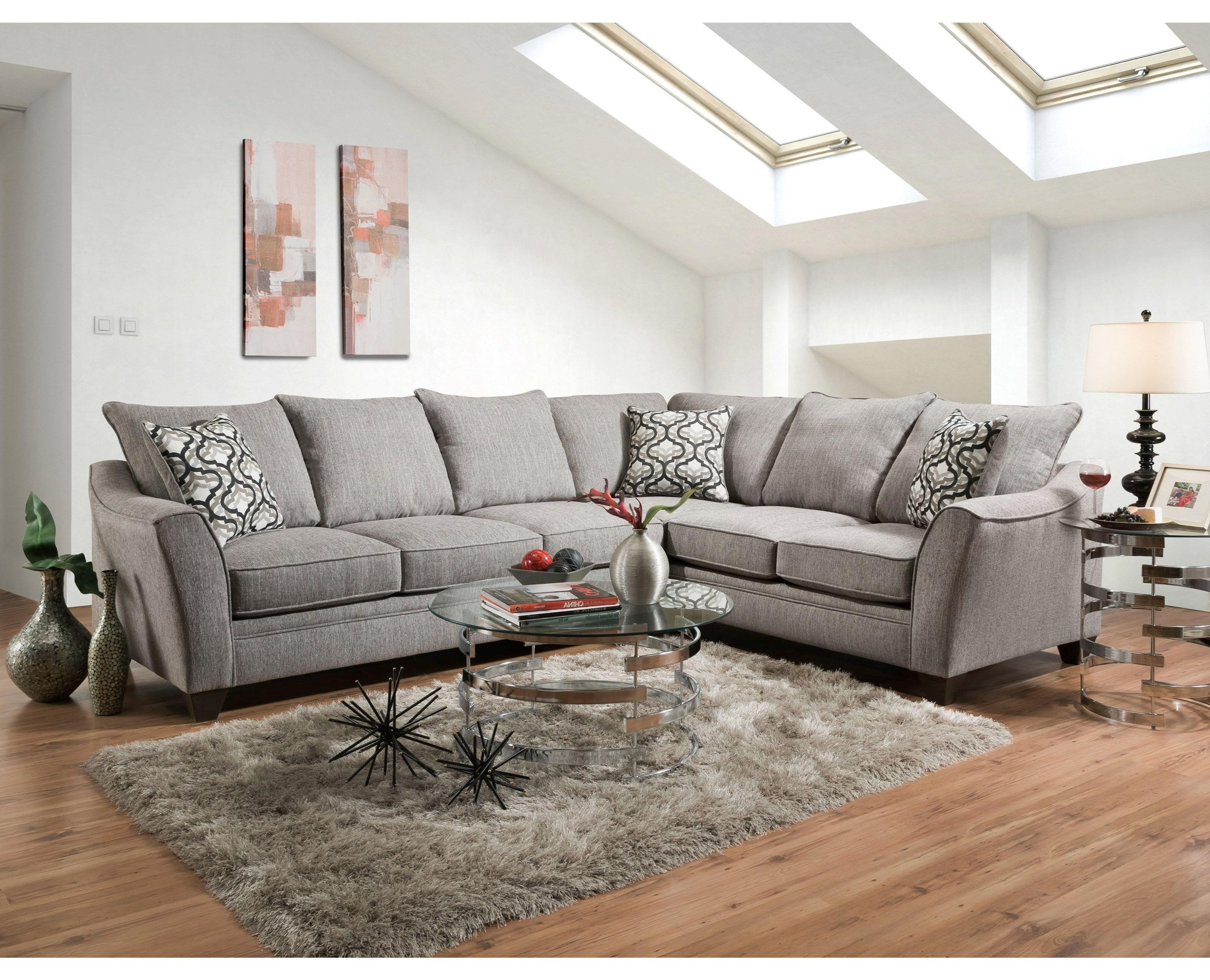 American Sofa Images 4810 5 Seat Sectional Sofa By American Furniture At Miskelly Furniture